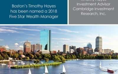 Five Star Wealth Manager Award Boston Magazine